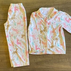 Toddler girls jammie set